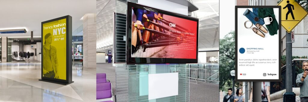 Significance of Digital Signage In Various Industries